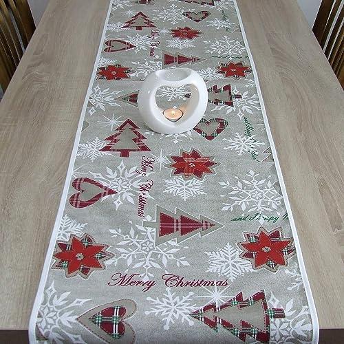 Maravilloso Tapete de Mesa, Merry Christmas, Navidad, HomeAtelier ...