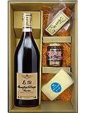 〔セット商品〕ボジョレー・ヴィラージュ・ヌーヴォー (ルイテット社) 750ml + チーズセット