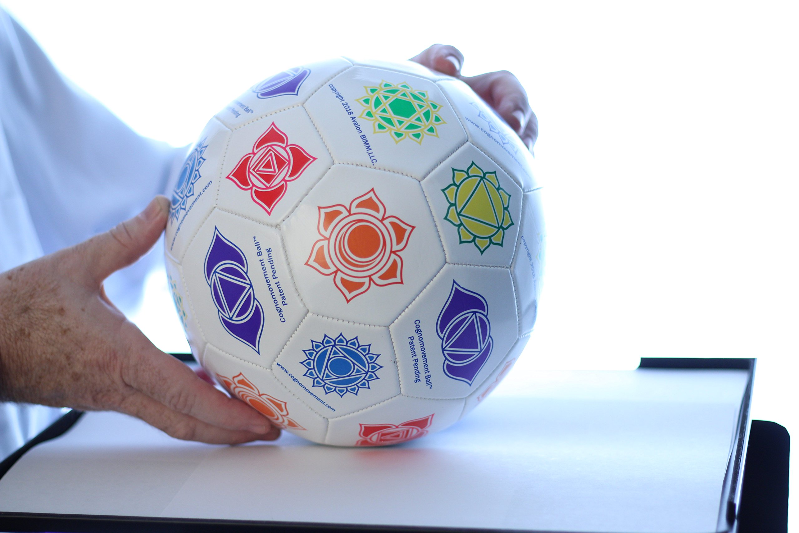 Cognomovement Soccer Ball Style + 1-Year Subscription | See Video Below | Physical & Mental Exercise Ball | Promotes Healthy Eating - Managing Stress Caused Emotional Eating | Boost Mental Acuity by Cognomovement (Image #6)
