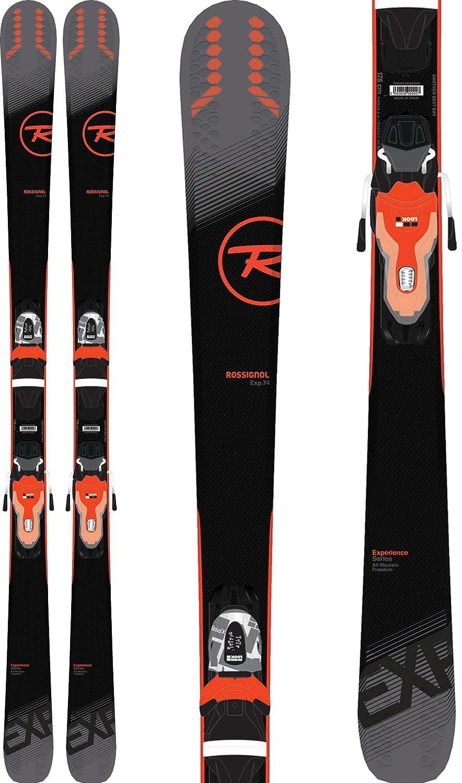 Amazon.com: Rossignol Experience 74 - Esquís con fijaciones ...