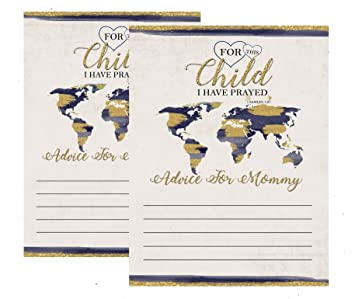 World Map Party Supplies.Amazon Com Blue Gold World Map Adoption Themed Baby Shower Party