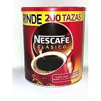 Nescafe Clasico, CAFÉ SOLUBLE NESCAFE CLASICO 400GR LATA, 400 gramos
