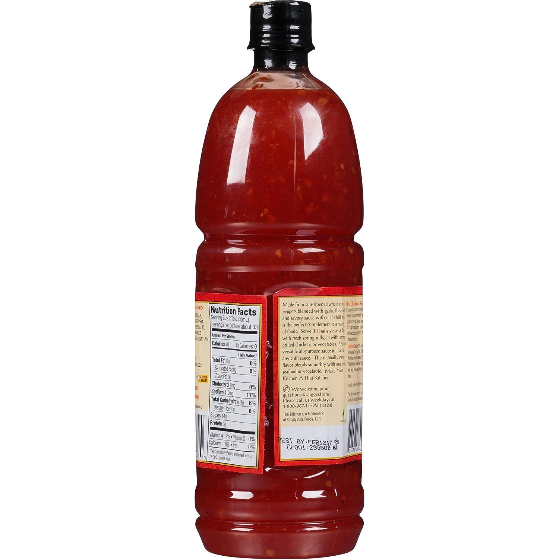 thai kitchen sweet red chili sauce 33 82 fl oz pack