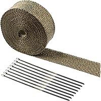 Tebery Protección de calor Cinta fibra de basalto