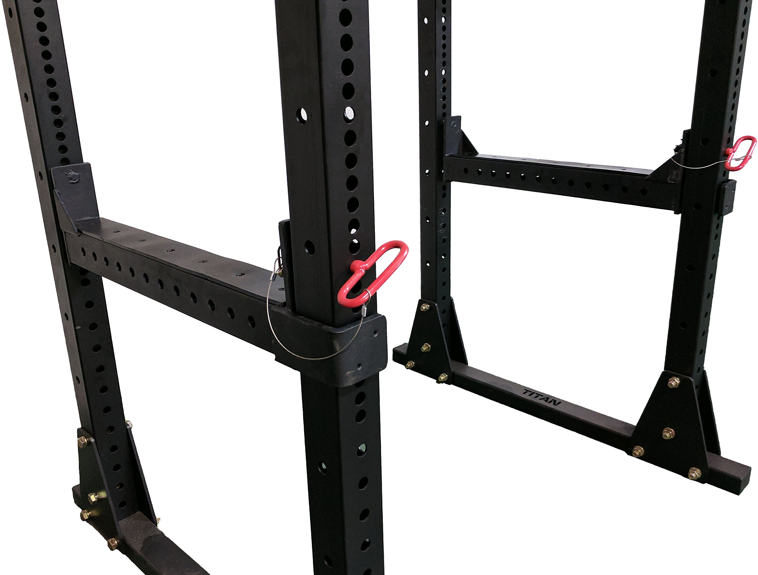 Titan Fitness Flip Down Safety Bars for X-3 Power Racks