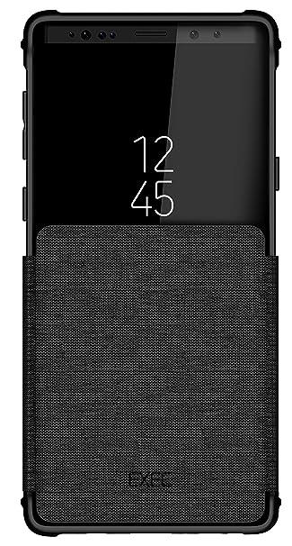 best website 16122 6cfdb Ghostek Exec Flip Wallet Case Wireless Charging Compatible with Galaxy Note  9 – Black