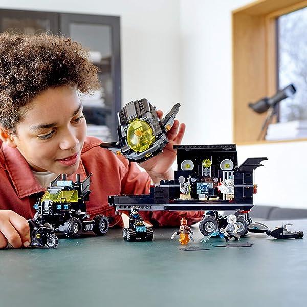 LEGO DC Mobile Bat Base building set toy for kids