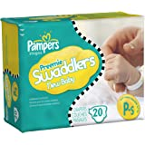 Pampers Swaddlers Size Preemie Mini Pack 20 Count(Pack of 12)