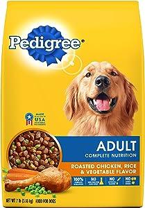 Pedigree Complete Nutrition Adult Dry Dog Food Roasted Chicken, Rice & Vegetable Flavor, 7 Lb. Bag (Discontinued By Manufacturer)