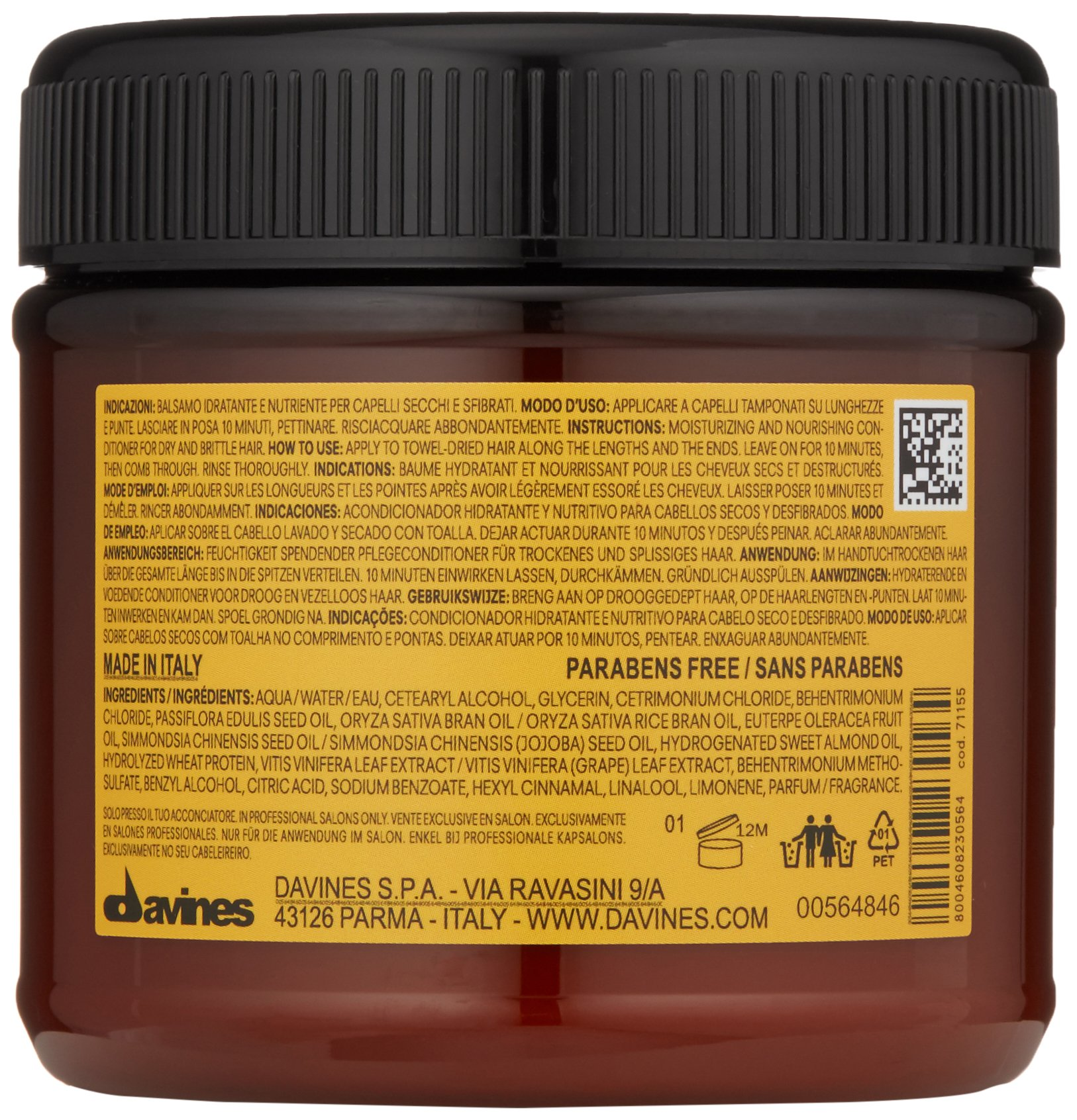 Davines Vegetarian Miracle Conditioner, 8.77 oz by Davines (Image #2)