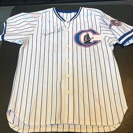 cb9e5979a 1995 Mariano Rivera Rookie Game Used NY Yankees Minor League Jersey ...