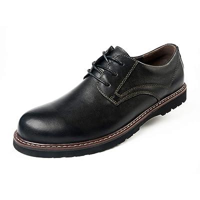 Amazon.com | A'erma Men's Genuine Leather Shoes | Shoes