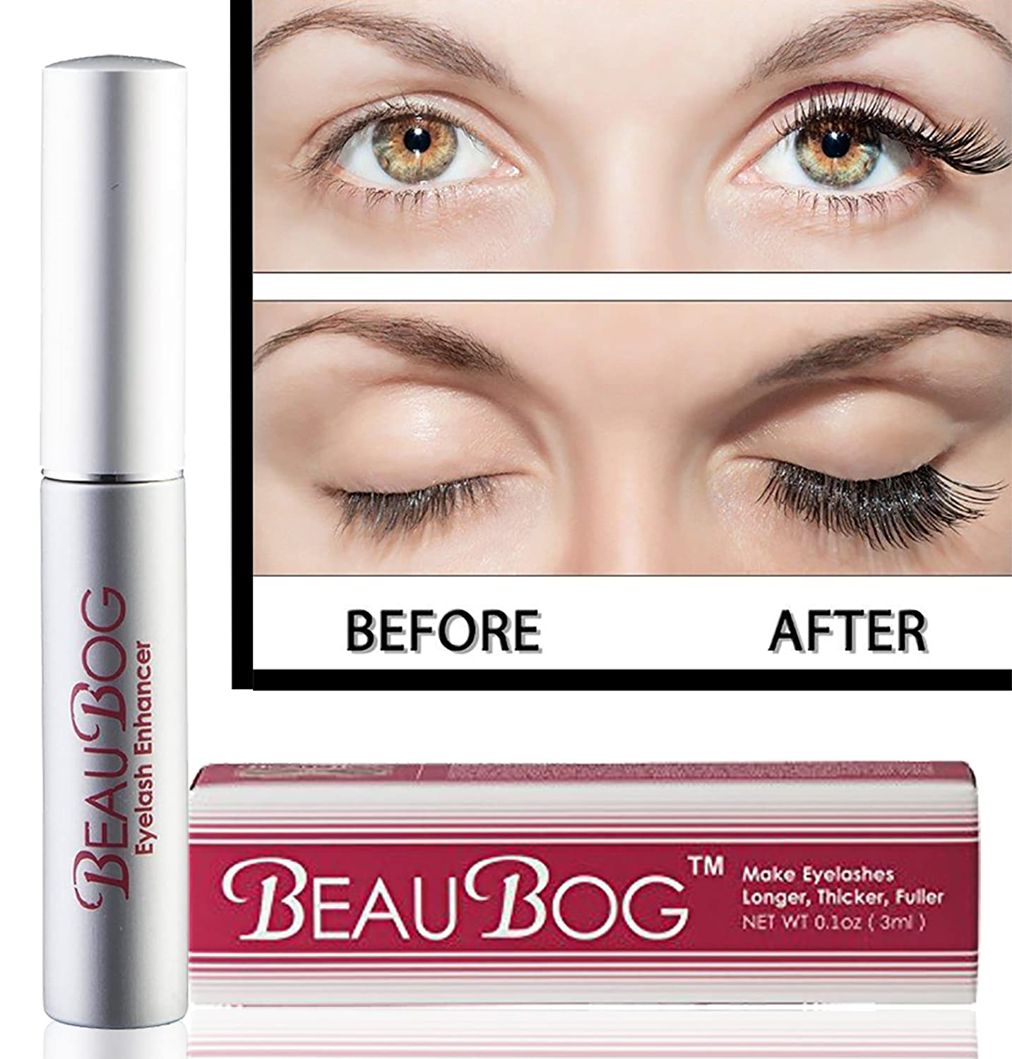 Amazon Eyelash Rapid Growth Serum 7 Day Results With No Side