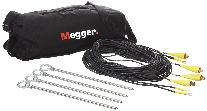 Megger 250576-KIT 3-Piece Color-Coded Test Lead Set for 250202 DET5//4D and DET62D Testers DET5//4R