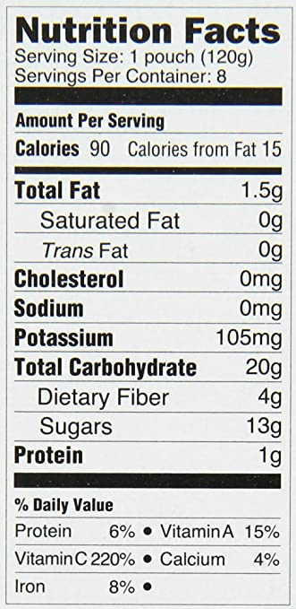Amazon.com: Happy Tot Organic Stage 4 Super Foods Pears ...