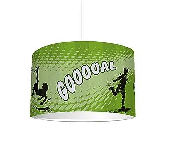 Stikkipix Kinderzimmer Lampenschirm Fussball Kl11 Kinderleicht Eine Fussball Lampe Erstellen Als Steh Oder Hangeleuchte Deckenlampe Perfekt Fur