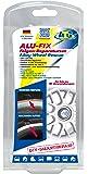 ATG ALU-FIX Set de reparación de llantas – Masilla especial para llantas de aluminio y de acero en caso de daños en la superficie –incluye lápiz color plateado aluminio-metálico para el retoque – DIY Smart-Repair – de 11 piezas