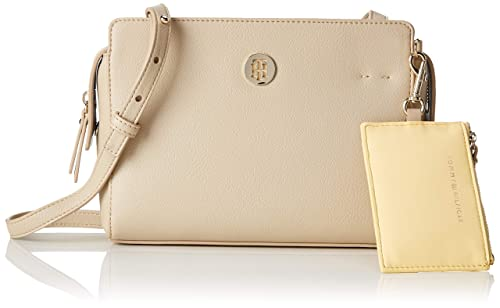 93a6dfb934 Tommy Hilfiger Charming Crossover, Women's Cross-Body Bag, Beige  (Warmsand&Silvermetal),