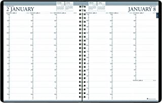 product image for House of Doolittle 2020-2021 Two-Year Professional Weekly Planner, Black, 8.5 x 11 Inches, January - December (HOD272002-20)