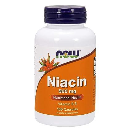 Niacina 500mg - 100 caps
