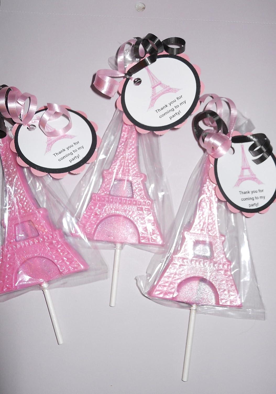 Amazon.com: 12 Eiffel Tower Paris, Ooh La La Gourmet Chocolate ...