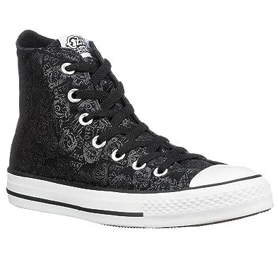 Converse Damen Chuck Taylor All Star Sneaker, Schwarz/Weiß, 38 EU ...