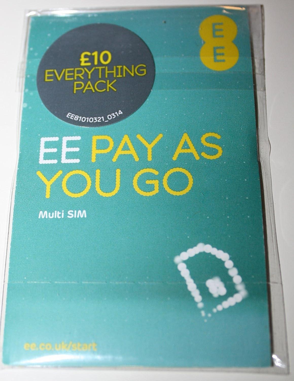 Amazon.com: EE/Naranja UK con tarjeta SIM de crédito Call de ...