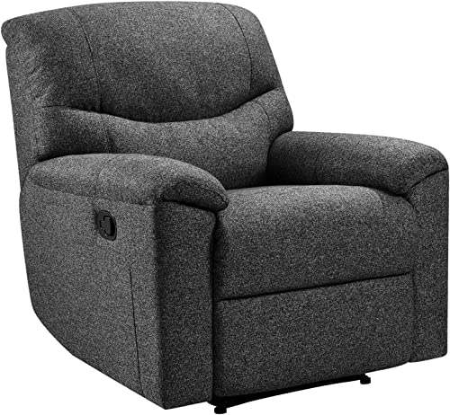 Messier Recliner Single Padded Sturdy Base Upholstered Chair