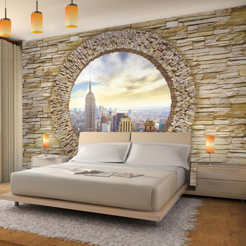 100/% FATTI IN GERMANIA Sfondo Fotografico Muro di pietra di New York 396 x 280 cm Lana Sfondo Salotto Camera da letto Ufficio Corridoio Decorazione Murali Decorazione da muro moderna 9109012a