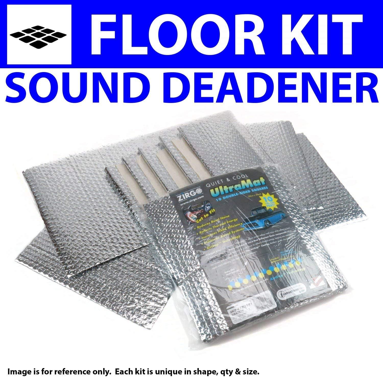 Zirgo 314609 Heat and Sound Deadener for 88-98 GMC ~ Floor Kit