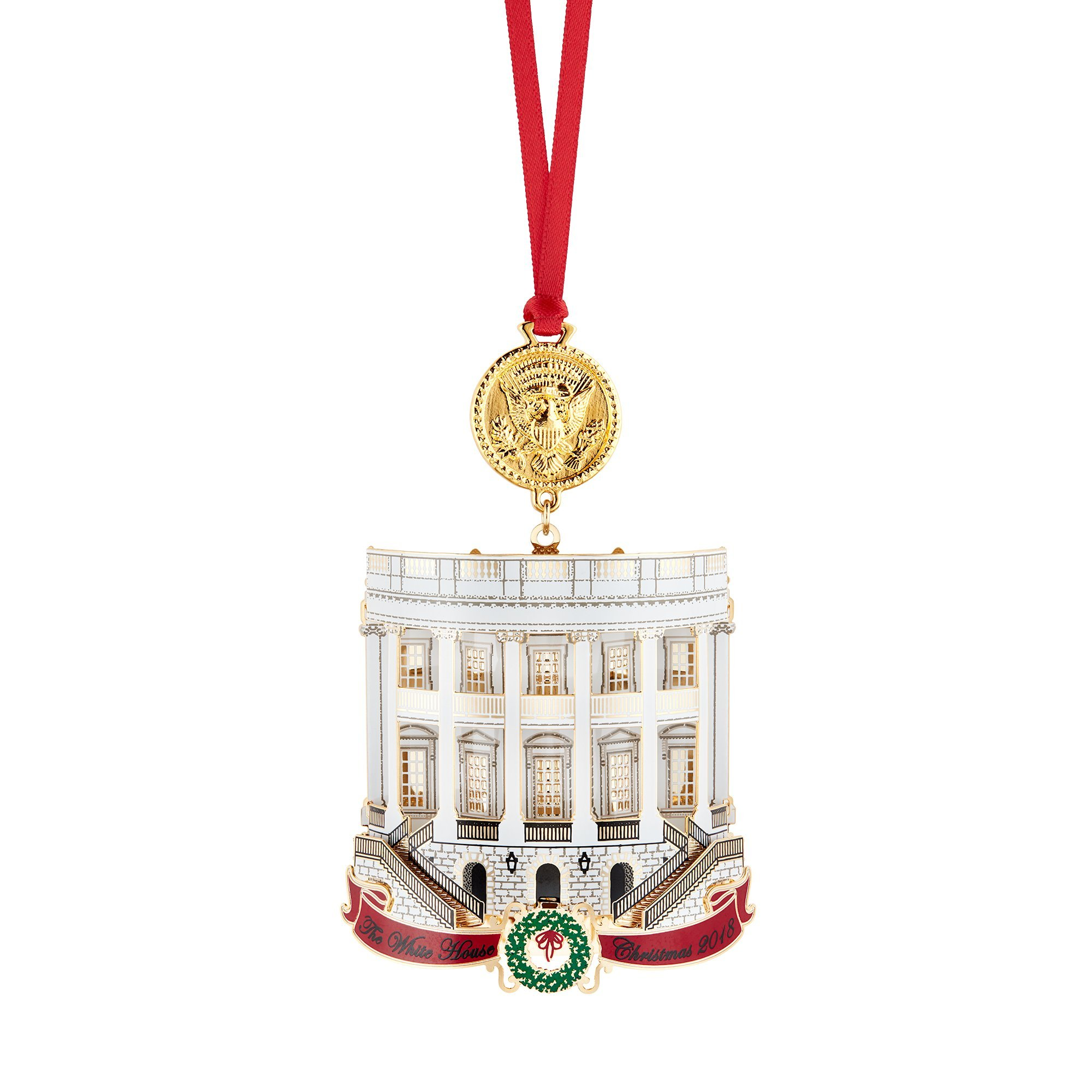 Official 2018 White House Christmas Ornament by White House Historical Association