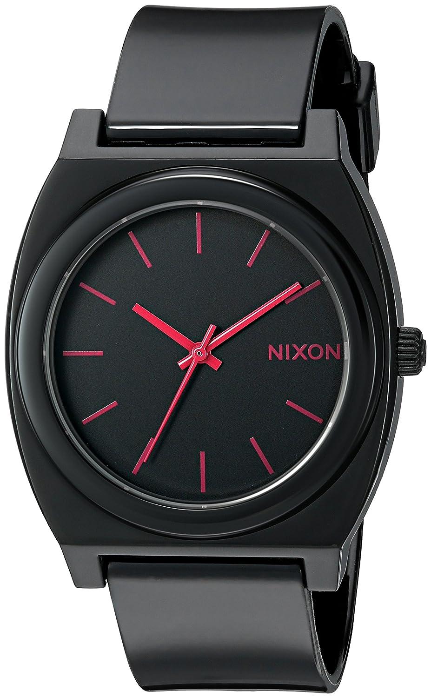 Nixon Time Teller Uhr Quarz black bright NEU