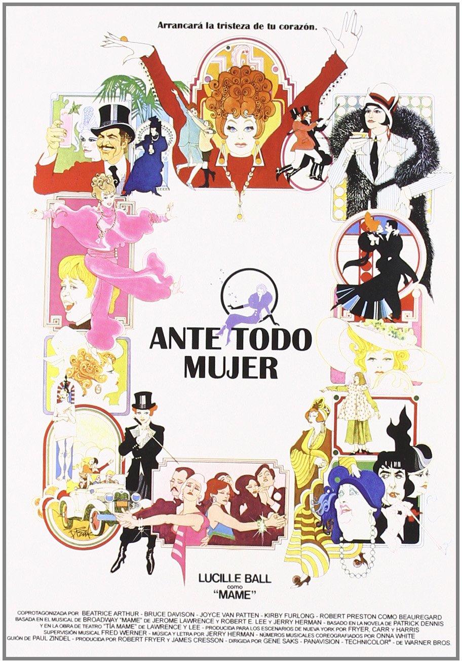 Ante todo mujer [DVD]: Amazon.es: Lucille Ball, Beatrice Arthur, Bruce Davison, Joyce Van Patten, Kirby Furlong, Robert Preston, Gene Saks: Cine y Series TV