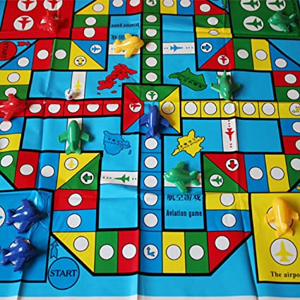 MIFX Simple Ludo 3D airplane flying chess Flight Game Parent-child travel  Game