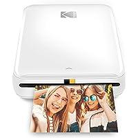 KODAK Step Wireless Mobile Photo Mini Printer (Blanco) Compatible con Dispositivos iOS y Android, NFC y Bluetooth