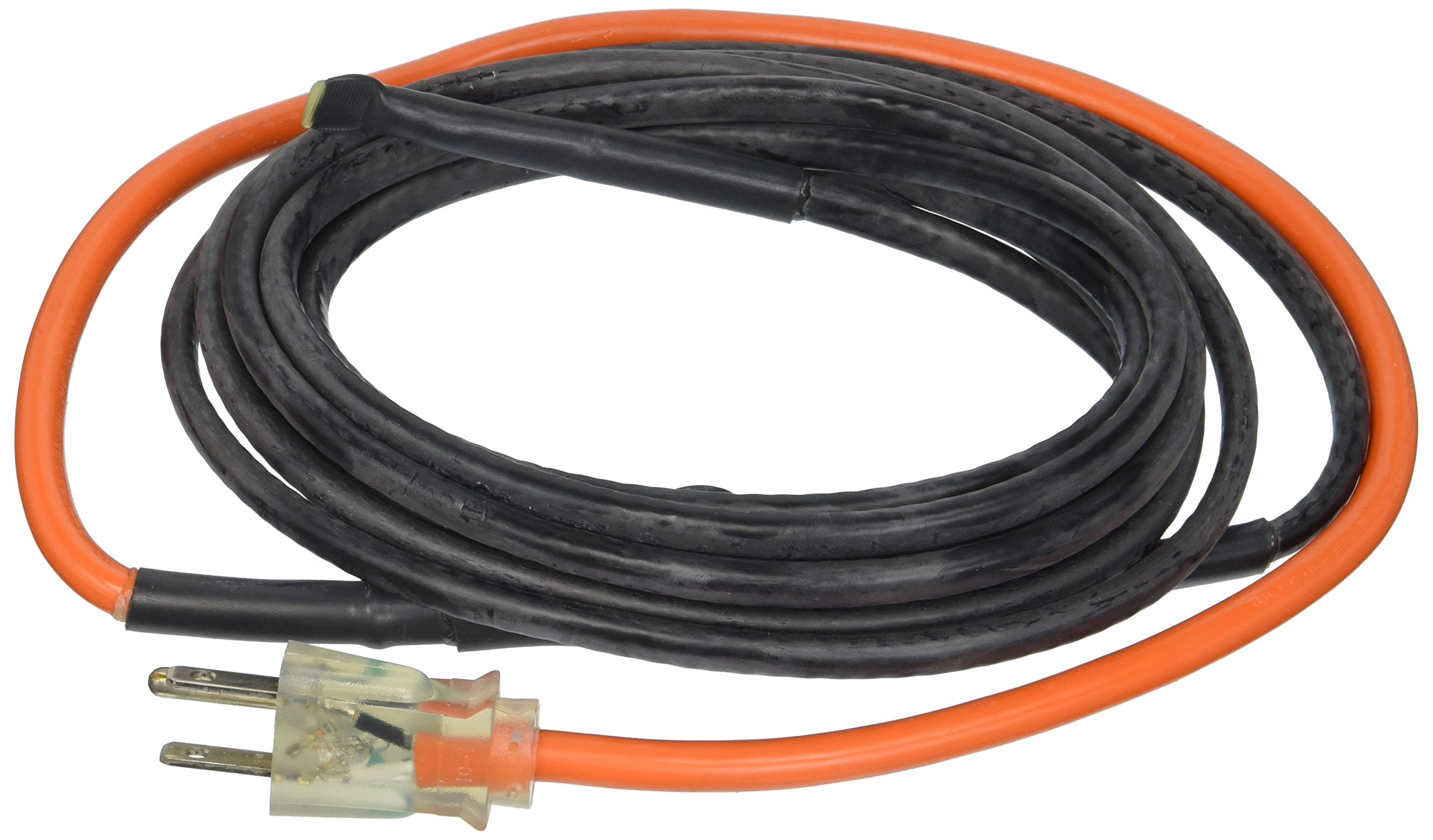 M-D Building Products 4341 12-Foot Pipe Heating Cable with Thermostat by M-D Building Products