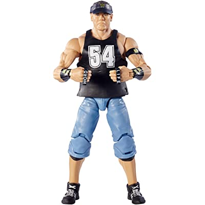 WWE Defining Moments Elite John Cena Figure: Toys & Games