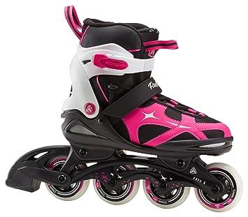 Firefly Intersport Roller SK. FF. Comp Adj Jr Girl – Noir/Violet 33