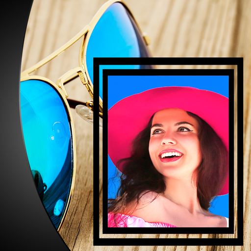 Glasses Photo Frames - Wayfarer Sunnies