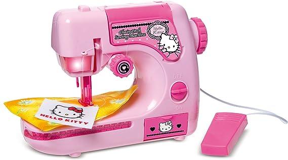 IMC Toys - Maquina De Coser Hello Kitty Pilas 43-310506: Amazon.es: Juguetes y juegos