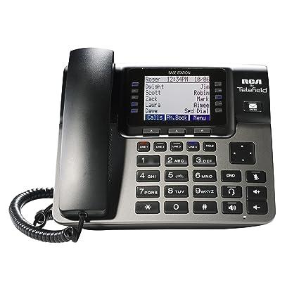 amazon com rca unison u1000 dect 6 0 10 handset 4 line landline rh amazon com RCA Phones and Data Switches RCA Wireless Telephone
