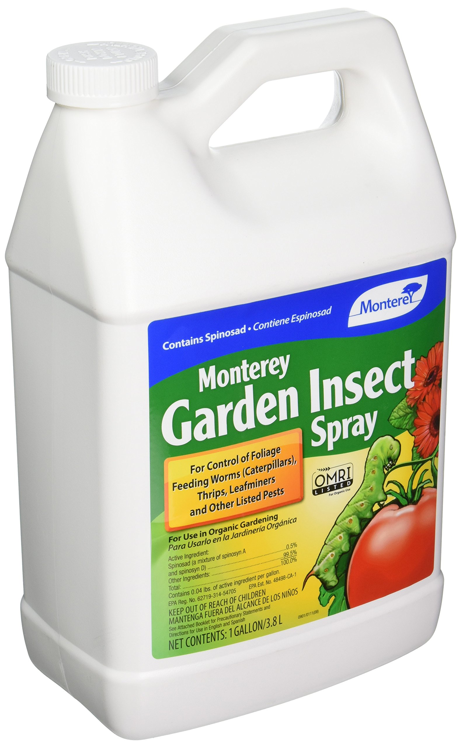 Monterey Garden Insect Spray with Spinosad Concentrate 128oz (NLG6155)