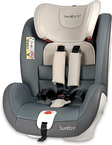 Availand Sureby silla coche bebé: Grupo 0+/1/2/3 Rotación 360 ...