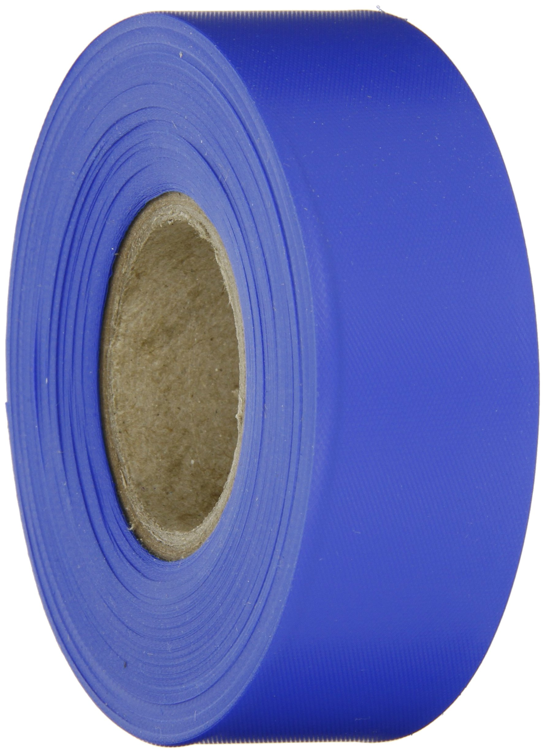 Brady Blue Flagging Tape for Boundaries and Hazardous Areas - Non-Adhesive Tape, 1.188'' Width, 300' Length (Pack of 1) - 58345