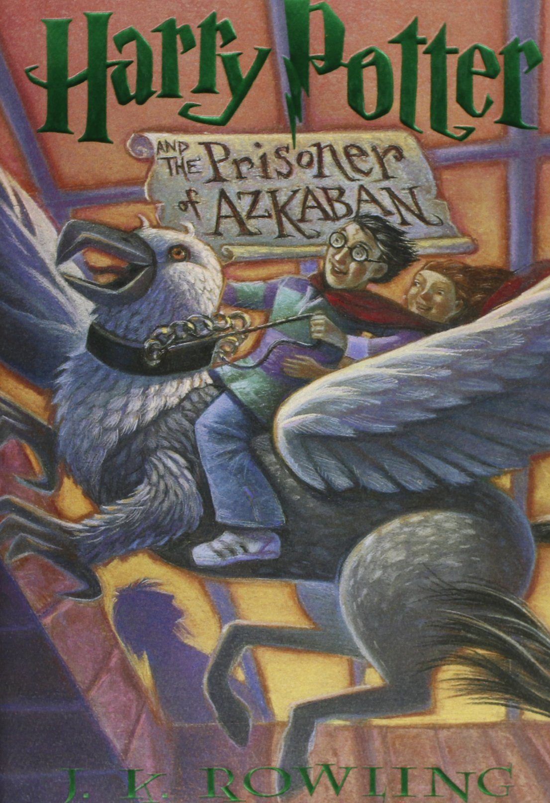 Image result for harry potter and the prisoner of azkaban book cover