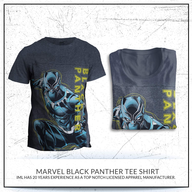 Marvel Boys Black Panther Tee T-Shirt