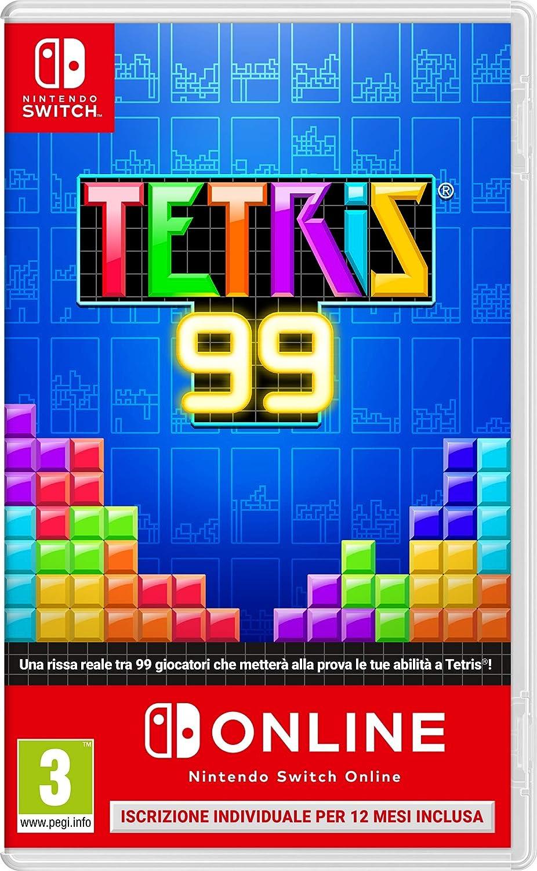 Tetris 99 + Nintendo Switch on Line - Nintendo Switch [Importación italiana]: Amazon.es: Videojuegos