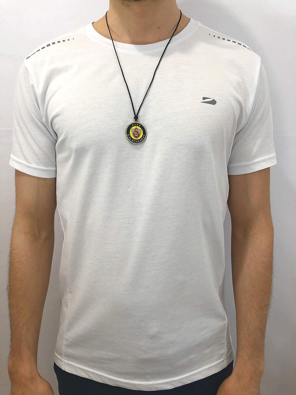 Collier Galatasaray GS pour les fans de football avec cordon noir