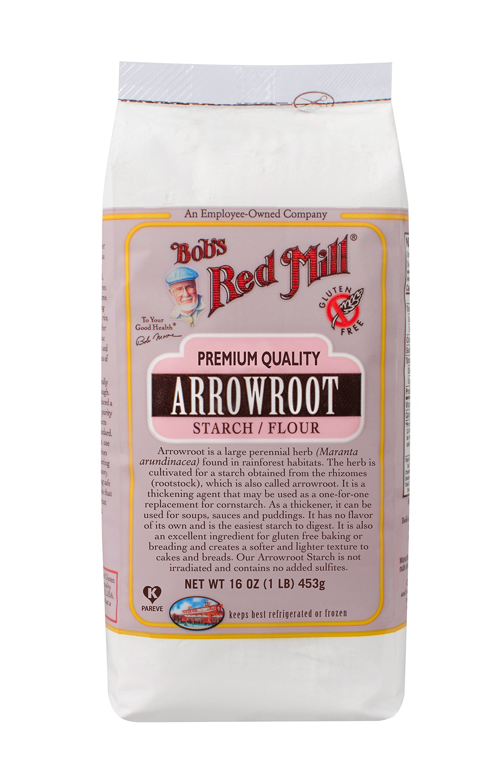Bob's Red Mill Arrowroot Starch/Flour, 16-ounce (Pack of 4) by Bob's Red Mill (Image #3)