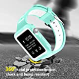 BRG Compatible Apple Watch Band Case, Shock-Proof